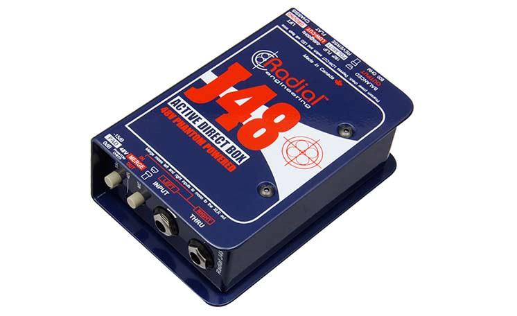 Активный директ-бокс для гитары и других инструментов Radial J48