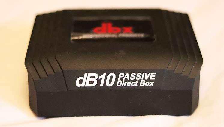 Пассивный директ-бокс для гитары DBX dB10